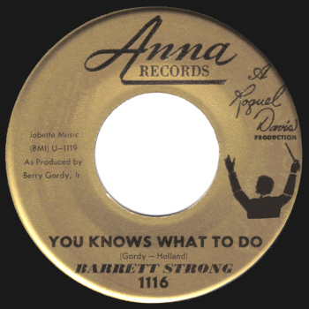 The Anna Records version.  Scan kindly provided by Gordon Frewin, reproduced by arrangement.