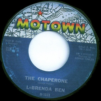 The Motown pressing - note the credit to 'LaBrenda Ben' solo.  Label scan kindly provided by '144man'.