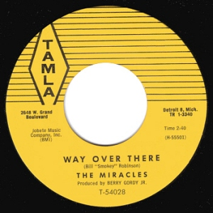 """28. The Miracles: """"Way Over There""""   Motown Junkies"""