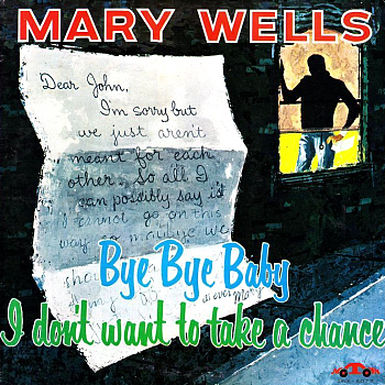 Mary's debut album, 'Bye Bye Baby I Don't Want To Take A Chance', which features both sides of both her first two Motown singles.  Check out the adorable early Motown logo in the bottom right corner.
