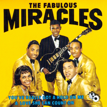 The Miracles' fourth LP, 'The Fabulous Miracles', from which this B-side is drawn.