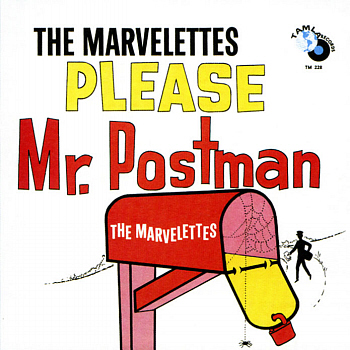 The Marvelettes' cheap and not especially cheerful début LP, 'Please Mr Postman', from which this is taken.