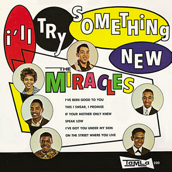 The Miracles' third album, 'I'll Try Something New', on which this song features.