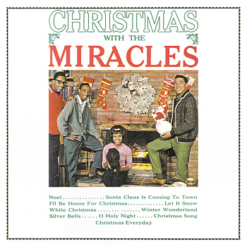 The 'Christmas with the Miracles' LP.  Digital image from an original scan by, and courtesy of, Gordon Frewin. All applicable rights reserved.