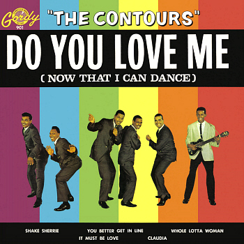 The Contours' only Motown LP, 1962's 'Do You Love Me', which featured this song.  Digital image from an original scan by Gordon Frewin. All applicable rights reserved.