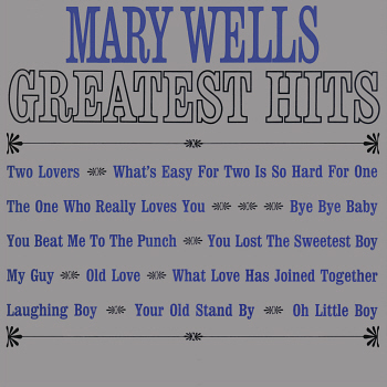 Mary's 'Greatest Hits' LP, released in April 1964, which features this track. Digital image from an original scan by Gordon Frewin; all applicable rights reserved.