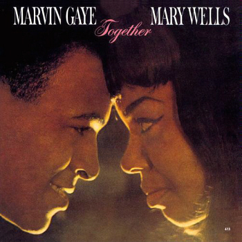 The 'Together' LP of Wells/Gaye duets, from which this was the lead single.  Image kindly provided by Gordon Frewin, used by arrangement.