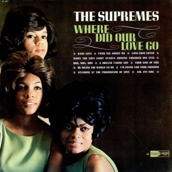 The Supremes' second LP 'Where Did Our Love Go', released in the wake of the unexpected chart success of the title track, and which featured this song.  This became Motown's biggest-selling studio album of the Sixties; not bad for a 'no-hit' group.