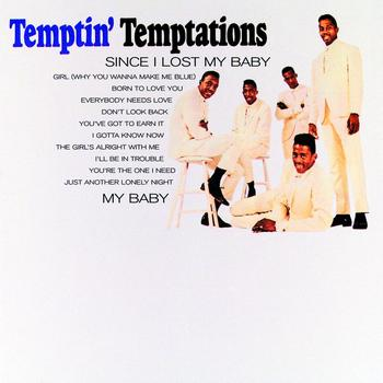 The group's third LP, 'The Temptin' Temptations', which featured this song.