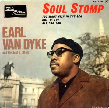 The Tamla Motown EP picture sleeve, showing Earl in London during his stint touring the UK as part of the Tamla-Motown Revue.