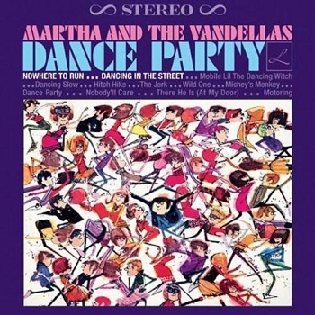 The Vandellas' 1965 LP 'Dance Party', the eventual release of the album referred to on the 45 labels as 'Wild One'.