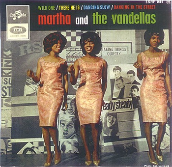 There was no US picture sleeve for 'Wild One'; instead, here's the cover of the French Vandellas EP where it was featured as the lead track.