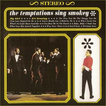 The group's second LP, 'The Temptations Sing Smokey', which featured this song. Strangely, Robinson was never accused of trying to hog the group's limelight (as happened to Norman Whitfield eight years on), even though he modestly takes up half the cover here.