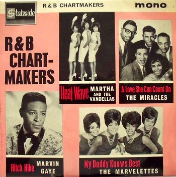 In Britain, Stateside Records featured this as one of the four selections on the multi-artist 'R&B Chartmakers' EP.
