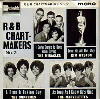 In Britain, Stateside Records featured this as one of the four selections on the multi-artist 'R&B Chartmakers No.2' EP.