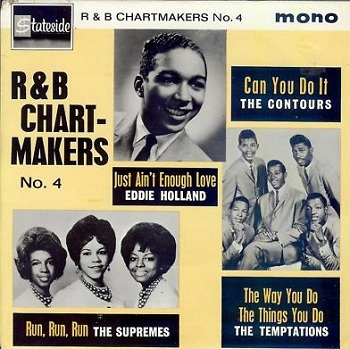 In Britain, Stateside Records featured this as one of the four selections on the multi-artist 'R&B Chartmakers No.4' EP.