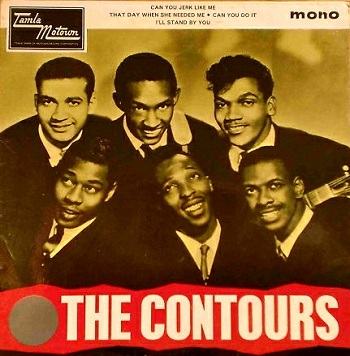 In 1965, the UK Tamla Motown label featured this track as part of a 4-song Contours EP for those who'd missed it the first time around, complete with picture sleeve.