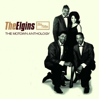 There is no label for this, no promo copies were ever manufactured; pictured is the Elgins' splendid 'Motown Anthology' CD, which contains both sides of this putative single.