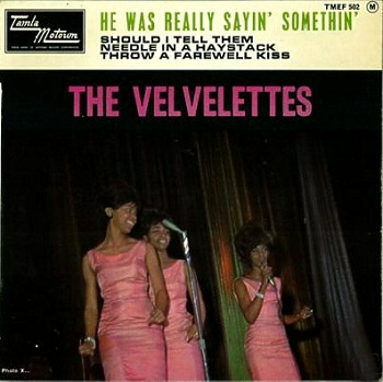 In Europe, this was released on a four track Tamla Motown EP, appending both sides of the Velvelettes' previous single to make an excellent little mini-album.