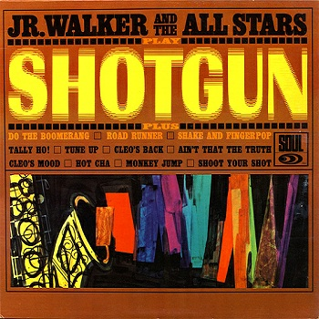 The All Stars' first Motown LP, 'Shotgun', which provided many tracks used by Motown for 7-inch A- and B-sides, including 'Hot Cha', which feels even more incongruous given the energy of the title track.