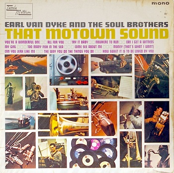 Earl's first LP, 'That Motown Sound' - compare the artwork to fellow Motown instrumentalist Choker Campbell's LP 'Hits of the Sixties'.