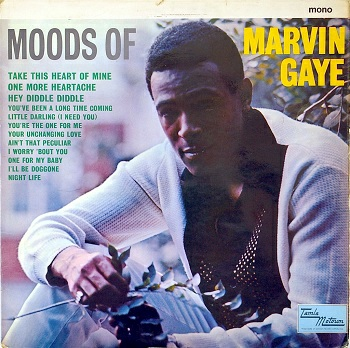 Marvin's 1966 LP 'Moods of Marvin Gaye', which contains this song - not to be confused with his much-inferior 1961 début album 'Soulful Moods of Marvin Gaye', which doesn't.