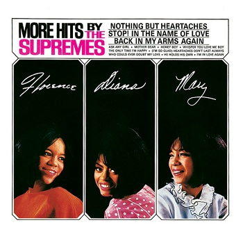 The Supremes' magnificent 'More Hits' album, packed wall-to-floor with great songs. Rats and roaches not pictured.