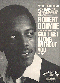 A Kama Sutra promo ad launching Robert Dobyne's solo career.
