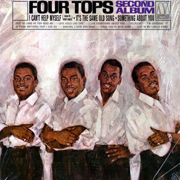 The Four Tops' second album, 'Four Tops Second Album'. I like this utilitarian approach to album titles.