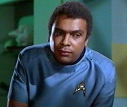 Booker Bradshaw, who interviews the Supremes here, whose 40-year career as a broadcaster and media mogul was not at all overshadowed by him being typecast as Doctor M'Benga on 'Star Trek'. Pictured: Bradshaw as Doctor M'Benga on 'Star Trek.'