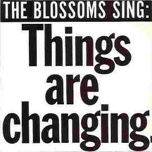 The cover of the Blossoms' version; note slightly different colour scheme.