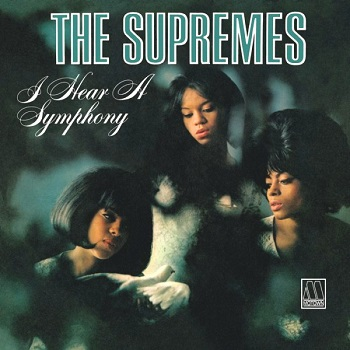 The Supremes' 1966 album 'I Hear A Symphony', which features this single.