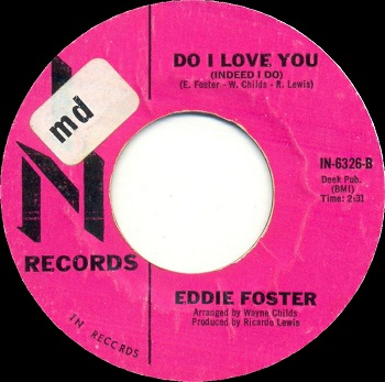 The bootleg version of the single, credited to 'Eddie Foster'.